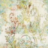 Oxy More 3 Digital Wall Panel Wallpaper Floreal 77980233 or 7798 02 33 By Casamance